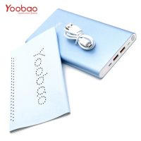 Yoobao 20,000mah Slim Polymer Powerbank With Micro And Lighning Input Port - Blue