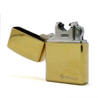 Zilla Electric Micro USB Rechargeable USB Lighter - Gold