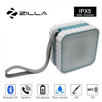 Zilla  HR686 Water Resistant Bluetooth Speaker With NFC - White