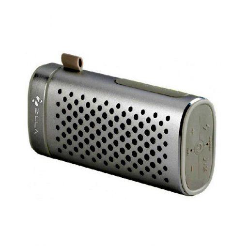 Zilla Portable Bluetooth Speaker With 4000 mAh Power Bank - Black