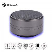 Zilla Z10  Metal Finish Multifunction Bluetooth Speaker - Grey