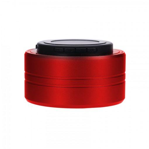Zilla Z10  Metal Finish Multifunction Bluetooth Speaker - Red