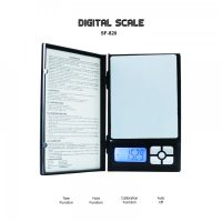 SF-820 Digital Scale For Jewelries 2000g x 0.1g - Black
