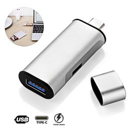 Type-C To USB 3.0 Adapter - Silver
