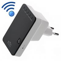 Wireless-N Mini Router Wifi Repeater Access Point Signal Amplifier with 1 LAN and 1 WAN Port