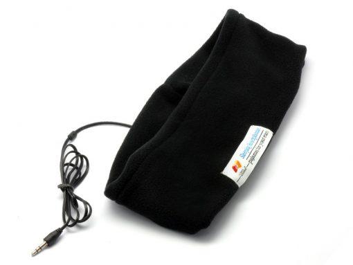 Sleeping Headband With Earphones - Black