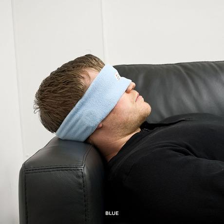 Sleeping Headband With Earphones - Light Blue