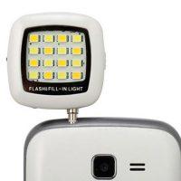 Smartphone LED Flash & Fill Selfie Light - White