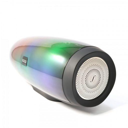 SODO L1 LIFE TWS NFC Multifunction 5 in 1 Speaker With Light Effects - Black