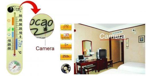 Thermometer  Barometer DVR Surveillance Hidden Spy Camera