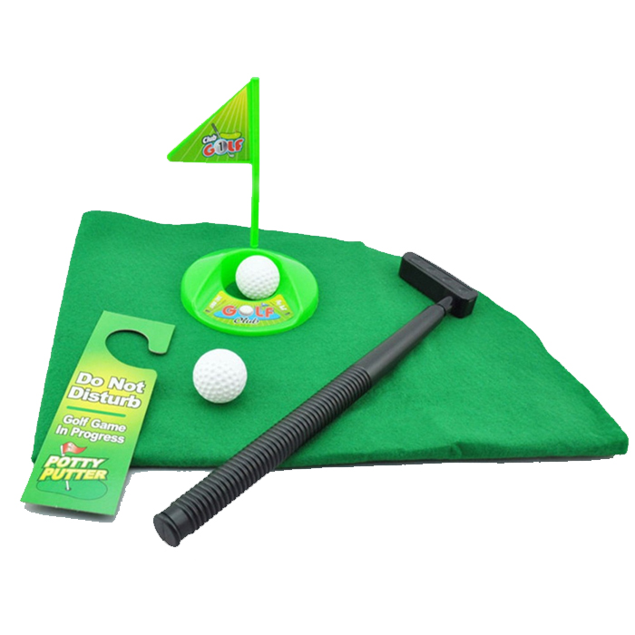 Toilet Golf Game - Green