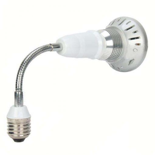 Bulb Shape Security Hidden Camera - White
