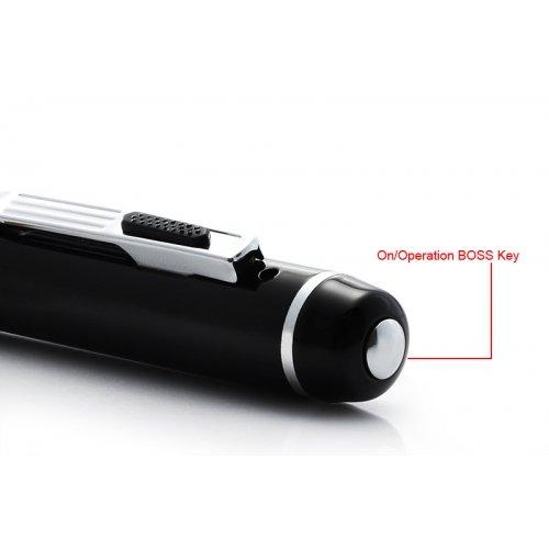 720P HD Spy Pen Digital Camera - Silver