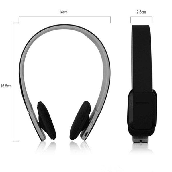 AEC Smart Bluetooth Stereo Headphone - Black