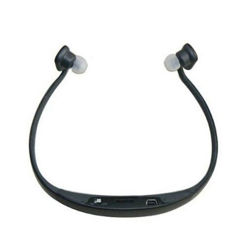 AEC Sport Bluetooth Headset with FM Radio And Mp3 Player - Black