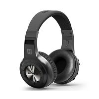 Bluedio LGH+ Wireless Bluetooth 4.1 Stereo Headphones with Mic/Micro SD Card Slot/FM Radio - Black