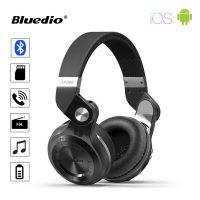Bluedio T2+ Turbine Hurricane Bluetooth Stereo Headset - Black