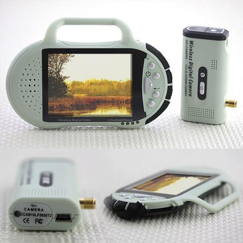 Digital Wireless Surveillance System With Monitor