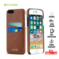 Gcase Koco Series Protective Shell Case for iPhone 7 Plus and 7s Plus - Brown