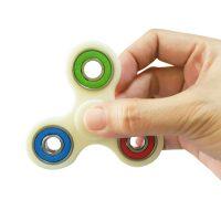 Fidget Pocket Hand Spinner Toy - White