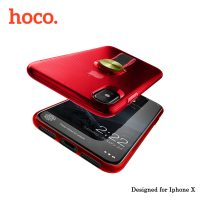 Hoco Cool Brief Case for iPhone X - Red