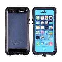 Ipega Waterproof Case for Iphone 6 - Black/Blue