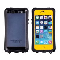 Ipega Waterproof Case for Iphone 6 - Black/Yellow