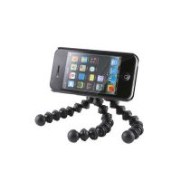 Iphone 4 Case With Gorilla Climb Pod - Black