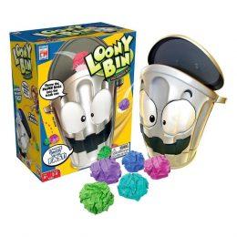Loony Bin Game Moving Trash Shooting Game - Grey