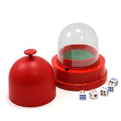Happy Dice Party Game - Red