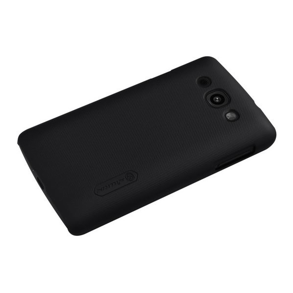 Nillkin Frosted Shield Matte Hard Case Cover for LG L60 - Black