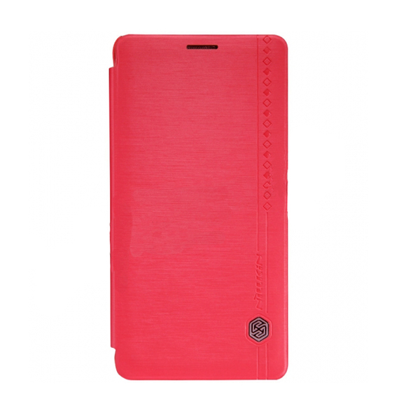 Nillkin Rain Leather Case For Samsung Galaxy Note 4 - Pink