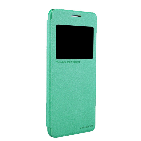 Nillkin Sparkle Leather Case For Samsung Galaxy Grand Prime G5308W - Green