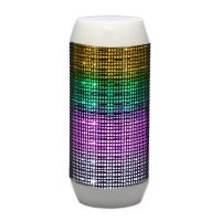 Pulse Wireless Bluetooth LED Speaker - White