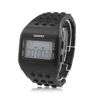 Shhors Minecraft  Digital Wrist Watch - Black