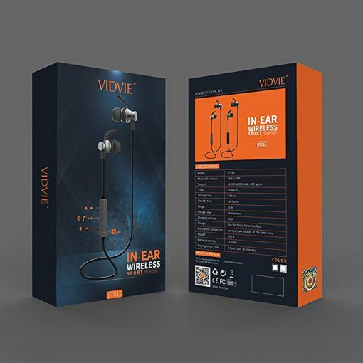 Vidvie Sports Wireless Headset - Black