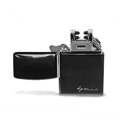 Zilla Double Arc Electric Rechargeable USB Lighter - Black