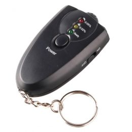 Breath Alcohol Tester with Flashlight
