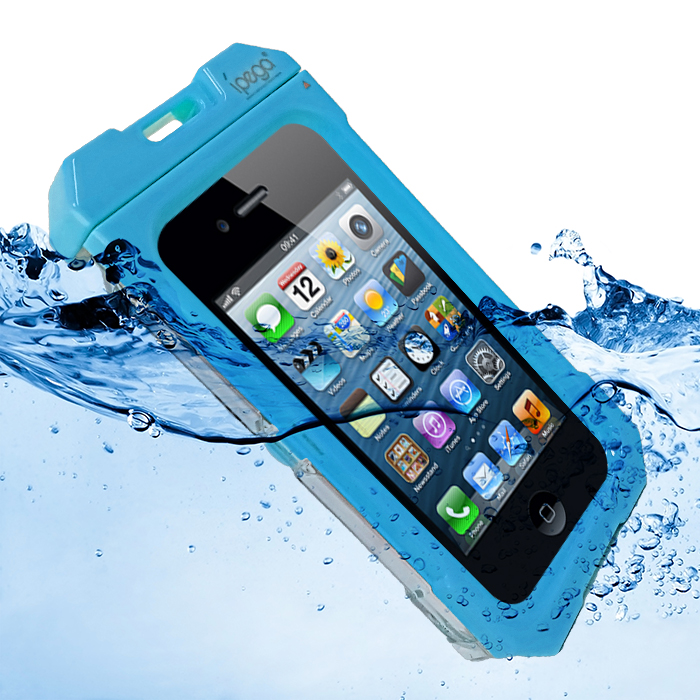 iPega Waterproof Protective Case for iPhone 4/4s - Blue