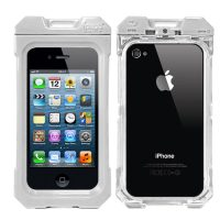 iPega Waterproof Protective Case for iPhone 4/4s - White