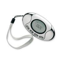2 in 1 LCD Pedometer Fat Calorie Calorie Meter Alarm