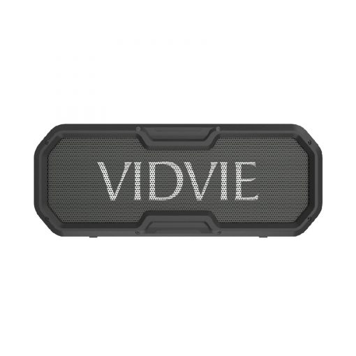 Vidvie SP906 IPX5 Water Resistant Outdoor Bluetooth Speaker With NFC TWS Connectivity And Built In 5200 mAh Powerbank - Black
